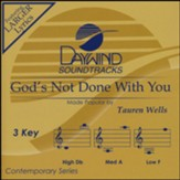 God's Not Done With You, Accompaniment CD