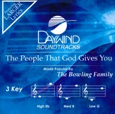 The People that God Gives You, Accompaniment Track