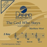 The God Who Stays, Accompaniment Track