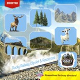 Rocky Railway: Clip Art & Resources CD