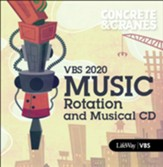 Concrete & Cranes: Music Rotation and Musical CD