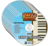 GiddyUp Junction: Piano with Vocals CD (pkg. of 10)