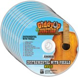 GiddyUp Junction: Instrumental with Vocals CD (pkg. of 10)
