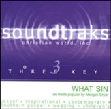 What Sin? Accompaniment CD
