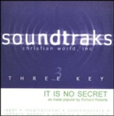 It is No Secret, Accompaniment CD