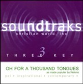 Oh, For a Thousand Tongues, Accompaniment CD