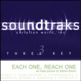 Each One, Reach One - Accompaniment CD