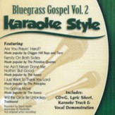 Bluegrass Gospel, Volume 2, Karaoke Style CD