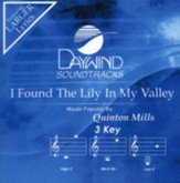 I Found The Lily In My Valley, Accompaniment CD