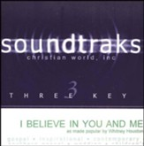 I Believe In You And Me, Accompaniment CD