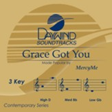 Grace Got You, Accompaniment Track
