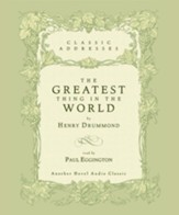 The Greatest Thing in the World - Unabridged Audiobook [Download]