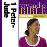 KJV Audio Bible, Dramatized: 1 and 2 Peter, 1, 2 and 3 John, and Jude Audiobook [Download]