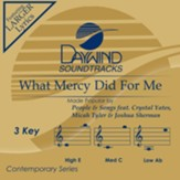 What Mercy Did For Me [Music Download]