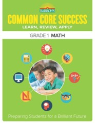 Barron's Common Core Success: Math, Grade 1