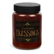 Count Your Blessings Candle
