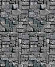 Roar: Stone Wall Plastic Backdrop 4' x 30'