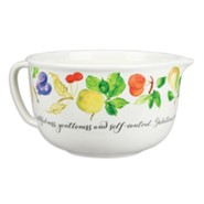Fruit of the Spirit Mixing Bowl