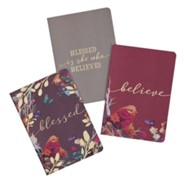 Blessed is She Notebooks, Set of 3