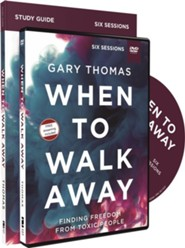 When to Walk Away, Study Guide and DVD