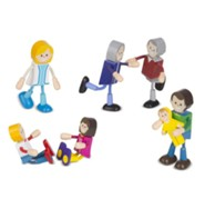 Family, Wooden Flexible Figures