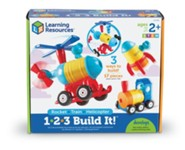123 Build It: Train, Rocket, Helicopter