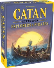 Catan Expansion: Exploreres and Pirates