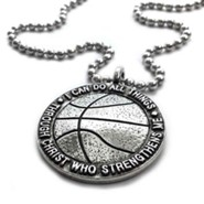 Basketball, I Can Do All Things, Pendant