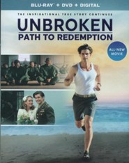 Unbroken: Path to Redemption Blu-ray/DVD Combo