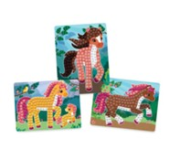 Sticky Mosaics Travel Pack, Horses