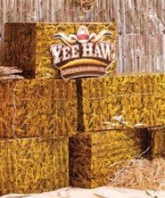 Yee-Haw: Straw Table Cover