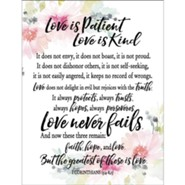 Love Is Patient Love Is Kind Magnet