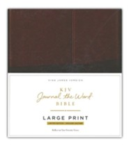 Premium Leather Brown Large Print - Slightly Imperfect