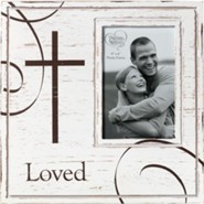 Loved Photo Frame With Cross