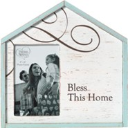 Bless This Home Photo Frame