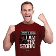 I Am The Storm Shirt, Independence Red, Medium