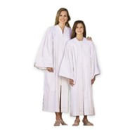 Adult Baptismal Gown, Junior (up to 5')