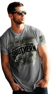 American Southern Shirt, Heather Slate, Large