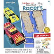 Classic Wood Paint Kit: Double Racers