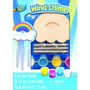 Mini Wood Paint Kit: Rainbow Windchime
