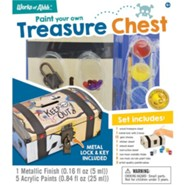 Classic Wood Paint Kit: Treasure Chest