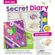 Classic Wood Paint Kit: Secret Diary