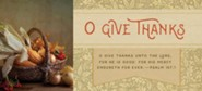O Give Thanks (Psalm 107:1) Offering Envelopes, 100