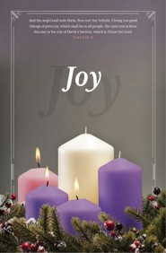 Joy (Luke 2:10-11, KJV) Advent Bulletins, 100