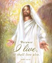 Risen Christ (John 14:19, KJV) Large Bulletins, 100