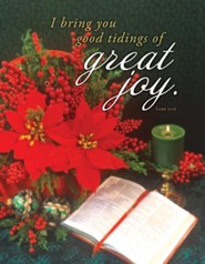 Great Joy (Luke 2:10, KJV) Tabloid Bulletins, 100
