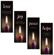 Advent X-Stand Banners, Set of 5 (23 inch x 63 inch)