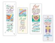 Famous Verses Caligraphy Series X-Stand Banner Set of 4 (23 inch x 63 inch)