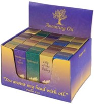 Anointing Oil Box Set, 20 Bottles/10 Scents