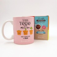 Si dejas todo, Taza, Coleccion Comparte  (Leave Everything to God, Mug, Share Collection, Spanish)